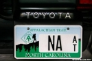 North Carolina A.T. Tag