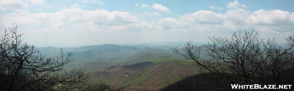 View from Blood Mtn