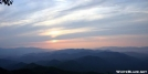 Sunset from Cheoah Bald by Repeat in Views in North Carolina & Tennessee