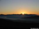 Sunset over Mt. Guyot GSMNP