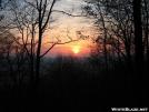 Sunrise from Blue Mtn. Shelter