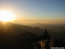 Sunset from Mt. Camerer by Repeat in Views in North Carolina & Tennessee