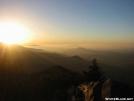 Sunset from Mt. Camerer