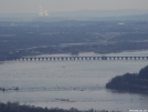 Rockville Bridge, Three Mile Island in the distance by NativePennsylvanian in Views in Maryland & Pennsylvania