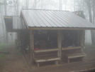 Derricks Knob Shelter by OldFeet in North Carolina & Tennessee Shelters