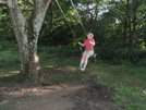 Using The Swing At Cow Camp Gap by mbetot in Section Hikers