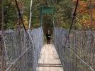 Clarendon Gorge Suspension Bridge by eressle1 in Trail & Blazes in Vermont