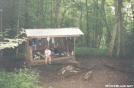 Old Sassafras Gap Shelter by Saluki Dave in North Carolina & Tennessee Shelters
