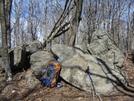 Breaktime On Bluff Mountain Summit