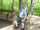 Ron At Standing Indian Shelter