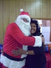 Santa & Maricela Haven by Ron Haven in Town People