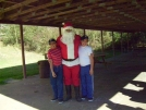Haven Twins & Santa by Ron Haven in Town People