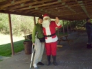 Tall Fran & Santa by Ron Haven in Section Hikers