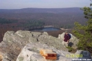 Laurel Lake (& PBJ) From Pole Steeple by c.coyle in Views in Maryland & Pennsylvania