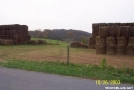 AT Thru Hay Bales by c.coyle in Trail & Blazes in Maryland & Pennsylvania
