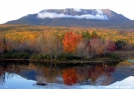 Mount Katahdin from Abol Bridge by tarheel in Views in Maine