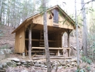 Mountaineer Falls Shelter by Tennessee Viking in North Carolina & Tennessee Shelters
