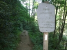 Pond Mountain Wilderness Boundary by Tennessee Viking in Trail & Blazes in North Carolina & Tennessee