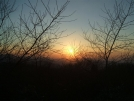 Sunset from Unaka Mtn Overlook by Tennessee Viking in Views in North Carolina & Tennessee