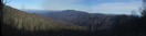 Panoramic View Of Big Bald Mountain From Frozen Knob by Tennessee Viking in Views in North Carolina & Tennessee