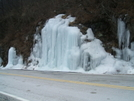Roadside Icicles Near Carvers Gap by Tennessee Viking in Views in North Carolina & Tennessee