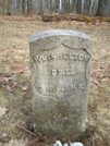 William Shelton Grave On Green Ridge Knob-cold Spring Mtn