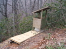 Flint Mountain Shelter by Tennessee Viking in North Carolina & Tennessee Shelters