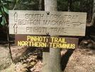 Pinhotti Terminus Junction At The Benton Mackaye Trail Along The S. Fork Jack River