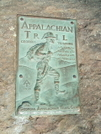 At Plaque At Springer Summit by Tennessee Viking in Trail & Blazes in Georgia