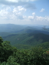 View From Blood Mountain by Tennessee Viking in Views in Georgia