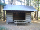 Saunders Shelter by Tennessee Viking in Virginia & West Virginia Shelters