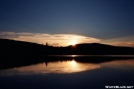 Sunset over Pierce Pond by Moon Monster in Views in Maine