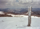 Max Patch under snow by Moon Monster in Views in North Carolina & Tennessee