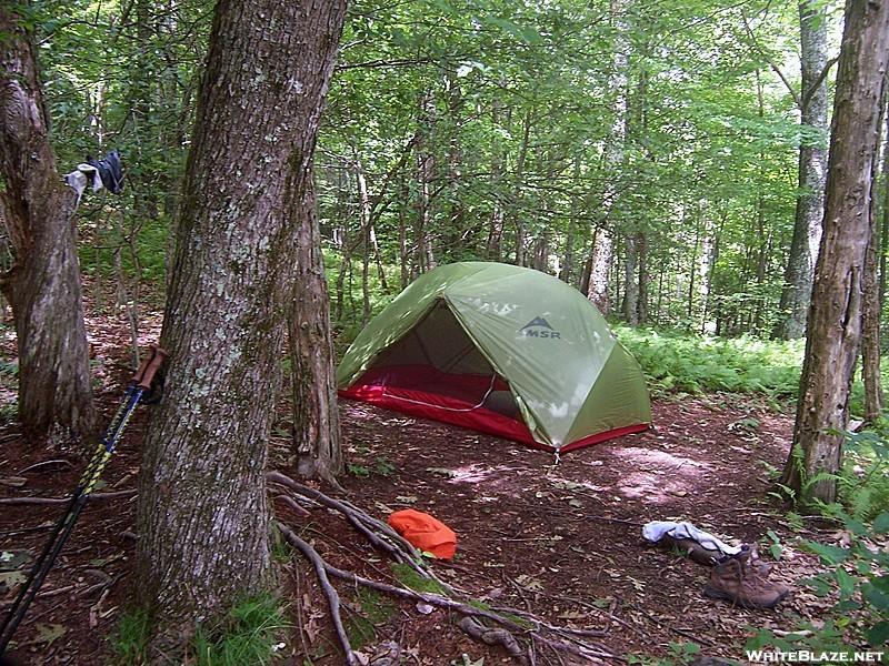 Campsite Near Catpen Gap