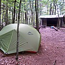 Deer Park Mountain Shelter by ollieboy in North Carolina & Tennessee Shelters