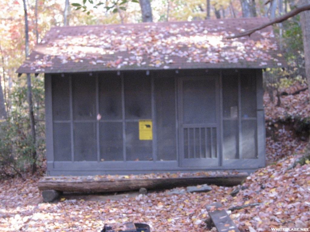 Max Epperson Shelter at Amicalola Falls