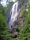 Adirondacks- Rainbow Falls by angewrite in Other Trails