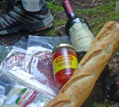 Dinner by angewrite in Long Trail
