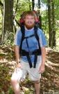 Lawnchair near Sam's Gap, NC/TN by Rain Man in Thru - Hikers