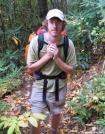 SOBO Mellow near Flint Mtn Shelter, NC by Rain Man in Thru - Hikers