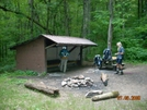 Abingdon Gap Shelter, Tn by Rain Man in North Carolina & Tennessee Shelters