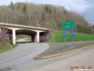 AT at I-40, TN by Rain Man in Trail & Blazes in North Carolina & Tennessee