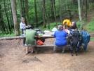 Brown Mtn Creek Shelter, Va by Rain Man in Thru - Hikers
