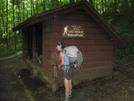 Harpers Creek Shelter, Va by Rain Man in Virginia & West Virginia Shelters