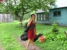 Mazie In Konnarock, Va by Rain Man in Section Hikers