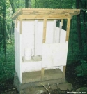 Big Spring privy, NC by Rain Man in North Carolina & Tennessee Shelters