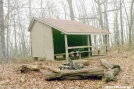 Blue Mtn Shelters, GA by Rain Man in Blue Mountain Shelter