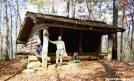 Brown Fork Gap Shelter, NC