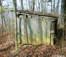 Brown Fork privy, NC by Rain Man in North Carolina & Tennessee Shelters