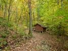 Bobblet's Gap Shelter, Va by Rain Man in Virginia & West Virginia Shelters